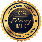 Satisfaction Guarantee - 100% Money Back